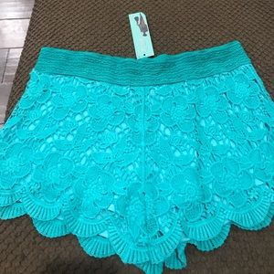 Lace shorts new